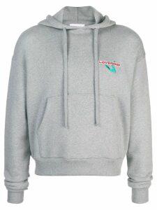Charles Jeffrey Loverboy Loverboy print hoodie - Grey