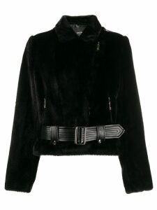 Twin-Set fitted belted jacket - Black