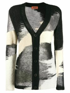 Missoni abstract pattern cardigan - Black
