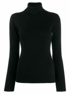 Fabiana Filippi turtle neck sweatshirt - Black