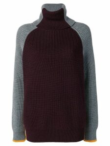 Victoria Victoria Beckham oversized turtleneck - Red