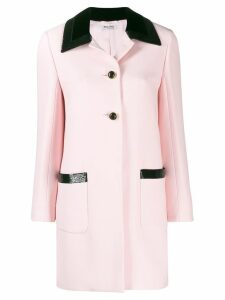 Miu Miu longline tailored blazer - PINK