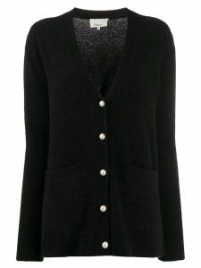 3.1 Phillip Lim faux-pearl button cardigan - Black