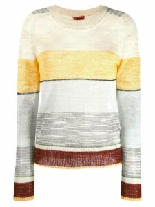 Missoni elbow patch sweater - Grey