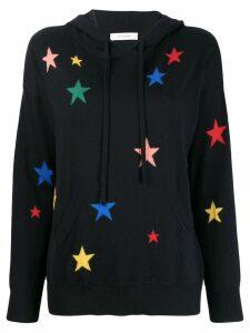 Chinti & Parker star print hoodie - Blue