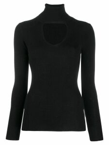P.A.R.O.S.H. cut-out detail sweater - Black
