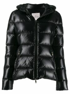 Moncler hooded down jacket - Black