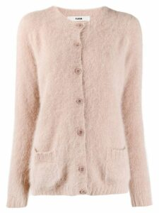 Roberto Collina relaxed fit cardigan - Pink