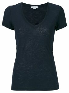 James Perse scoop neck T-shirt - Blue