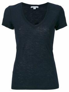 James Perse scoop neck T-shirt - Blue