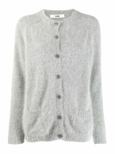Roberto Collina long sleeve cardigan - Grey