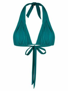 Carine Gilson soft triangle top - Green