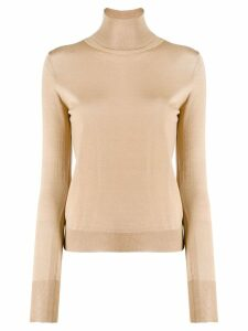Roberto Collina knit turtleneck top - Neutrals