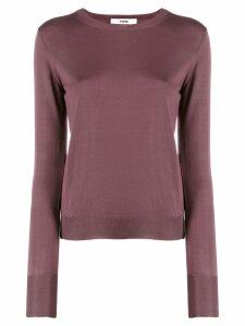 Roberto Collina round neck sweater - PURPLE