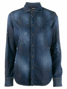 Dsquared2 faded denim shirt - Blue