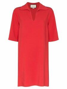 Gucci Web trim tunic - Red