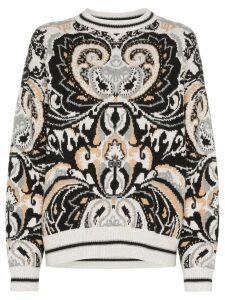 See By Chloé paisley tapestry jumper - Black