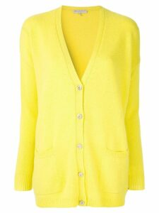 Emilio Pucci embellished button-up cardigan - Yellow