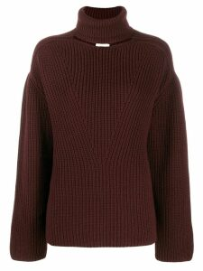 Bottega Veneta knit cut-out jumper - Brown