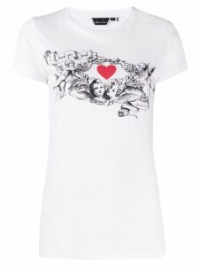Richard Quinn cupid print T-shirt - White