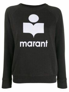 Isabel Marant Étoile logo sweatshirt - Black