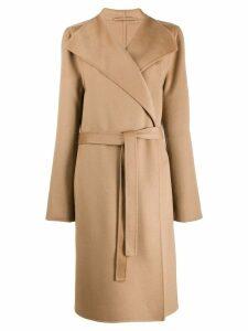 Joseph classic belted coat - Brown