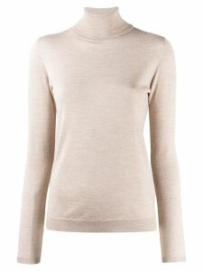 Brunello Cucinelli roll neck sweatshirt - NEUTRALS