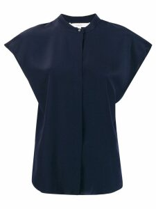 Vince short sleeved blouse - Blue