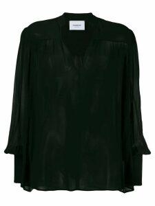 Dondup v-neck blouse - Black
