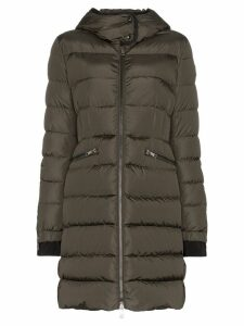 Moncler Betulong quilted feather down jacket - Green