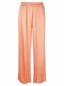 Sally Lapointe wide-leg trousers - Orange