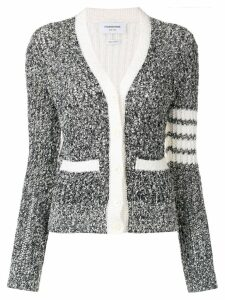 Thom Browne open stitch cardigan - Blue