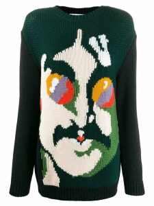 Stella McCartney All Together Now John Lennon jumper - Black