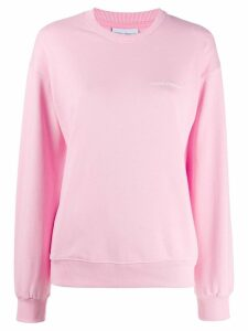 Chiara Ferragni eye patch sweatshirt - PINK