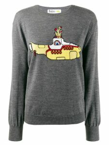 Stella McCartney All Together Now Yellow Submarine jumper - Grey