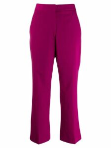 Stella McCartney cropped tailored trousers - Purple