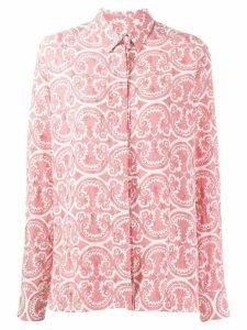 Jil Sander printed shirt - Pink
