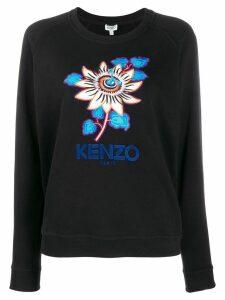 Kenzo Passion Flower sweatshirt - Black