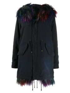 Mr & Mrs Italy shearling parka - Blue