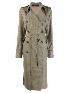 Rokh classic trench coat - NEUTRALS
