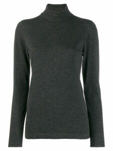 Brunello Cucinelli roll neck sweater - Grey
