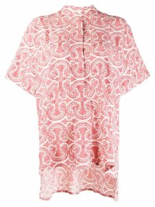 Jil Sander Litton printed shirt - Red