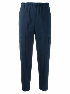 Theory cropped trousers - Blue