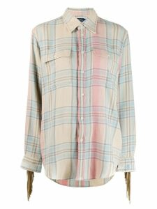 Polo Ralph Lauren plaid chest pocket shirt - Neutrals