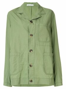 Rejina Pyo button up shirt jacket - Green