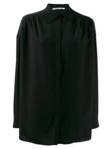 Agnona longsleeved shirt - Black