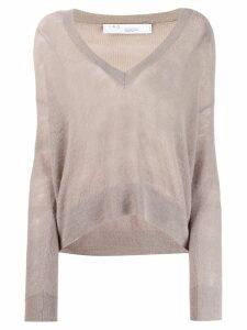 IRO v-neck jumper - Grey