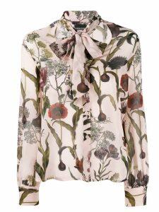 Ermanno Ermanno floral print shirt - PINK