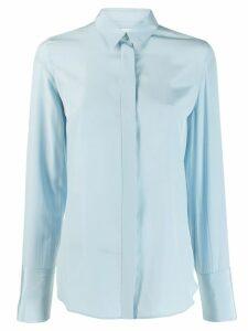 Jil Sander francesca button up shirt - Blue