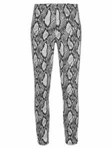 Alice+Olivia Gloriane skinny trousers - Grey